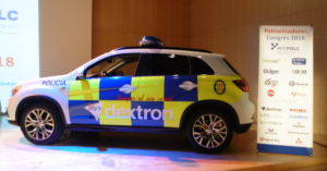 ACCPOLC Mitsubishi ASX coche policía