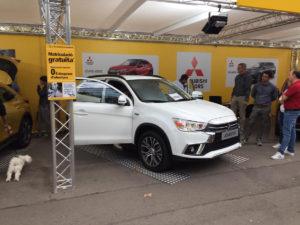 Gran éxito de Mitsubishi Catalunya en la nueva edición del SalónRACC2019