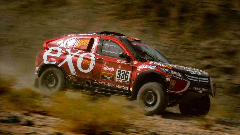 Cristina Gutiérrez termina el Dakar 2020 con su Mitsubishi Eclipse Cross