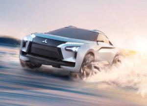 Mitsubishi prepara un gran SUV eléctrico basado en el e-Evolution Concept