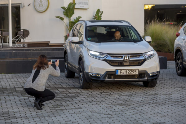 Resultado de imagen para Honda CR-V Hybrid e HR-V Sport