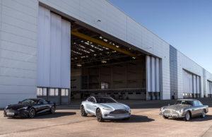 Aston Martin: 7 lanzamientos en 7 años