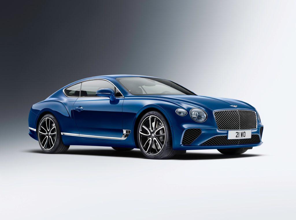 Continental GT, la versión más deportiva de Bentley