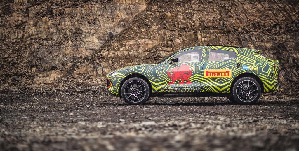 El nuevo Aston Martin DBX ya es una realidad