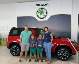 Ganadores Sorteo Fin de Semana con el Skoda Superb + Entradas PortAventura