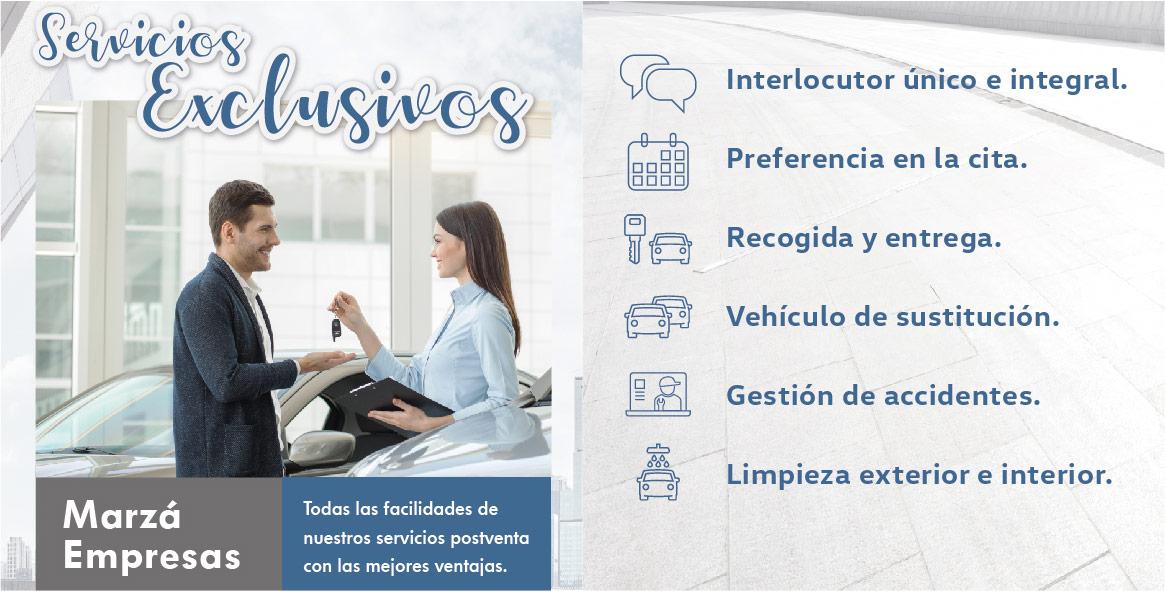 Servicios exclusivos Marzá empresas