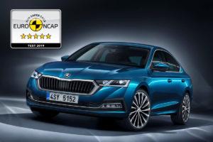 El nuevo Skoda Octavia obtiene cinco estrellas en la prueba Euro Ncap