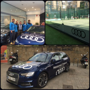 Motorsol Import  patrocina  El Club de Tenis Barcino
