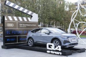 El Audi Q4 e-tron, protagonista en el Festival de San Sebastián