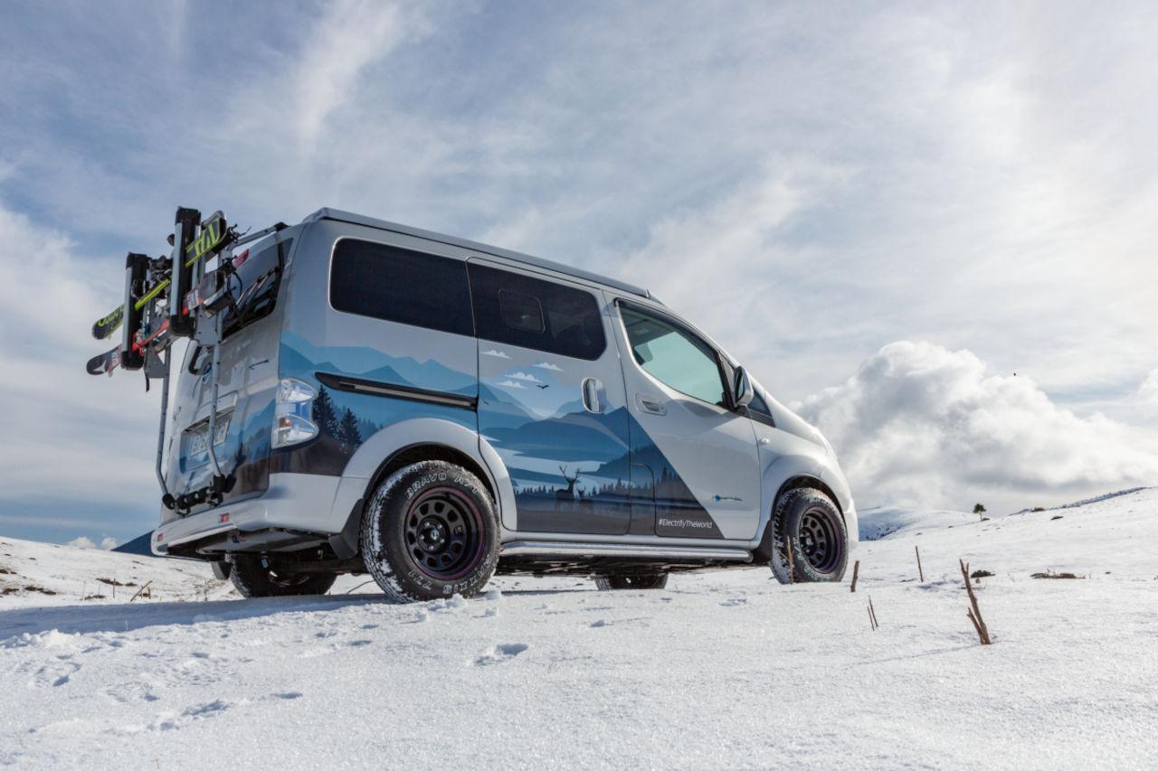 Nissan e-NV200, ideal para el turismo de proximidad