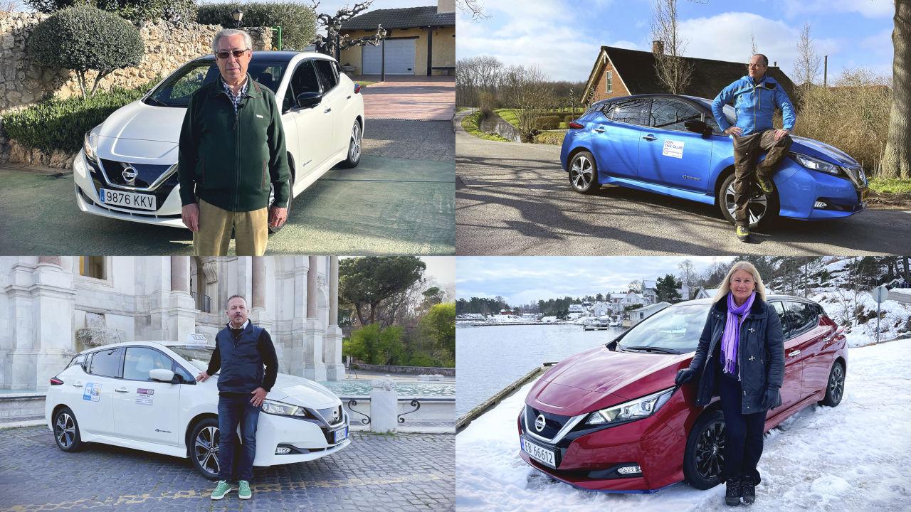 Nissan acaba con el mito: los conductores de vehículos eléctricos viajan más que los de gasolina y diésel