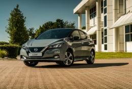 Nuevo Nissan LEAF modelo año 21 con el sonido «Canto»
