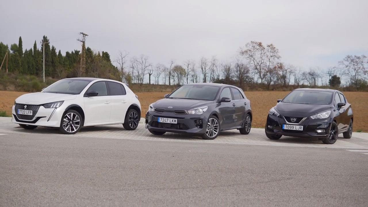 Comparativa: Kia Rio vs Nissan Micra y Peugeot 208