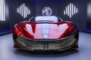 MG Cyberster Concept: el superdeportivo eléctrico del futuro